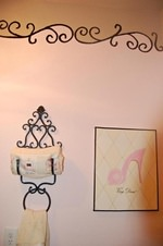 How-To Create a Paris Themed Powder Room