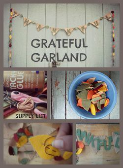 Felt Garland for Fall {DIY Decor}