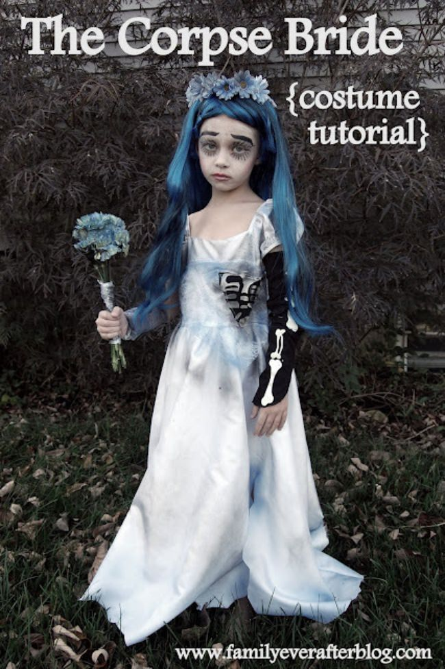 The Corpse Bride Girl's Costume (DIY Tutorial)