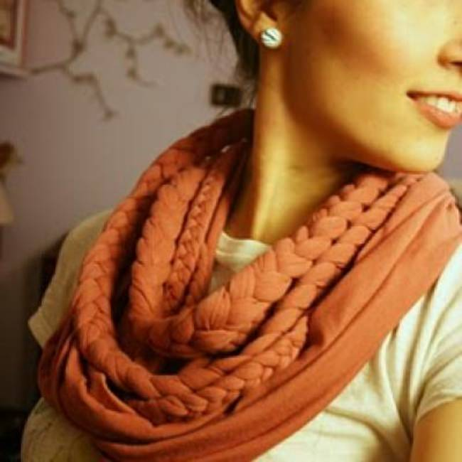 Chunky Braided Scarf {Tutorial}