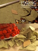Christmas wreath pillow Tutorial