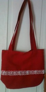 Handmade Red Bag