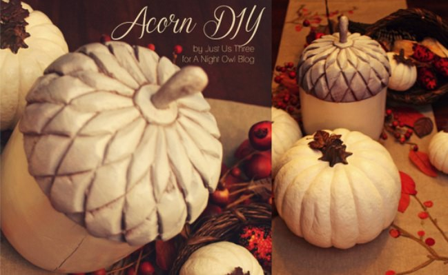 A Beautiful Acorn Upcycle