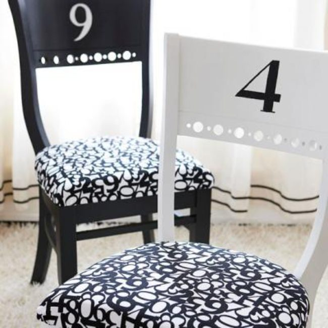 Simple to Fabulous {Dining Chairs}