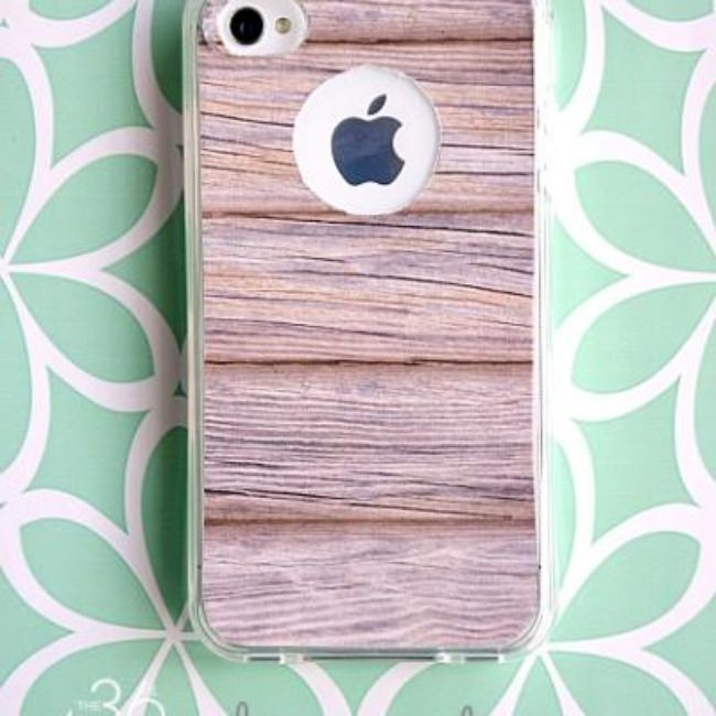 iPhone Wood Case {free printable}