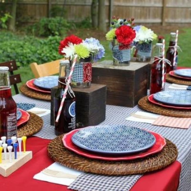 Patriotic Backyard Barbecue {Memorial Day}