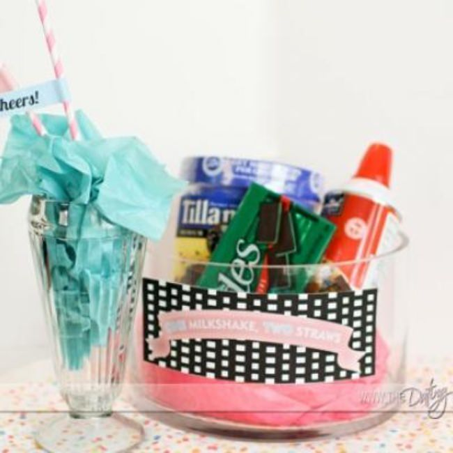 Milkshake Kit For Two {Anniversary Gift}
