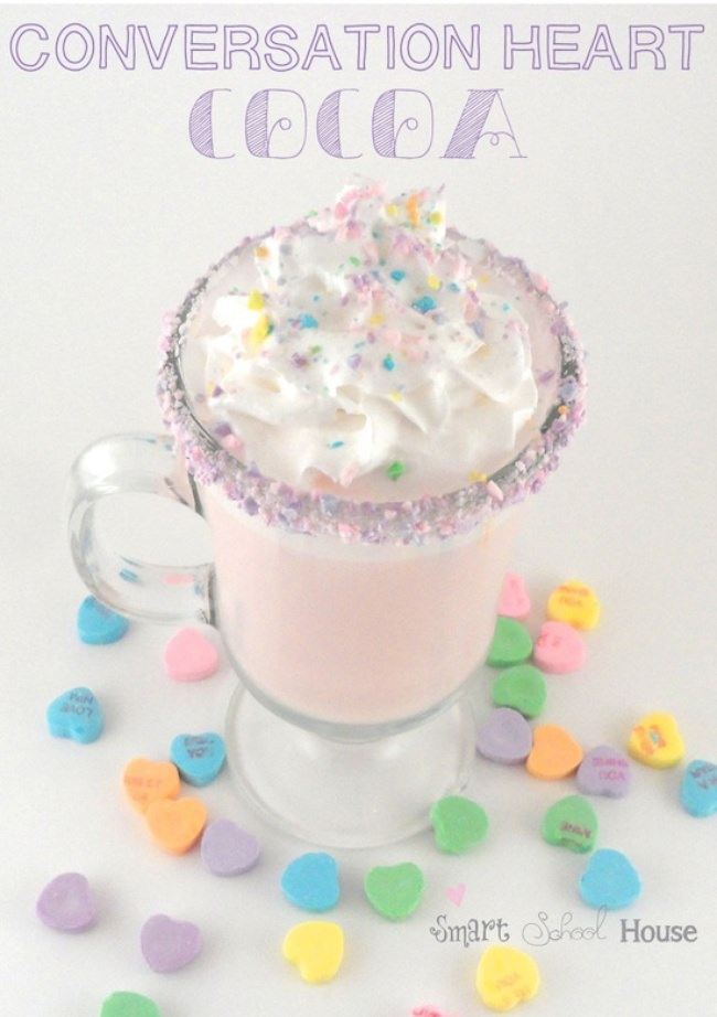 Conversation Heart Hot Cocoa