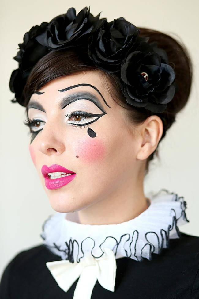 Harlequin Doll Makeup Tutorial