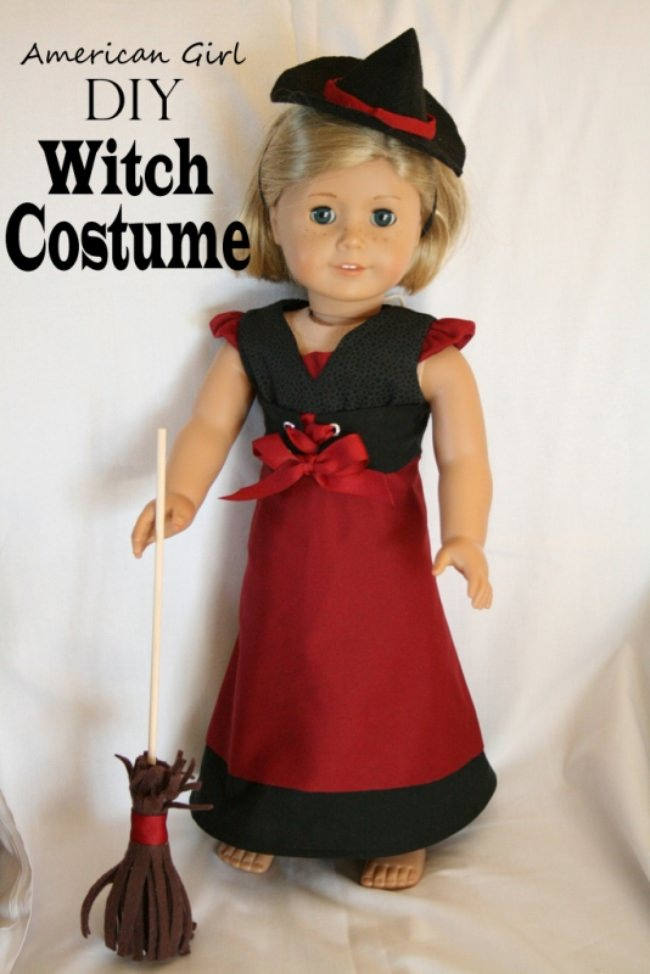 Doll Dress-Witch Costume Tutorial