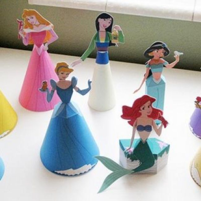 Disney Princess Paper Dolls