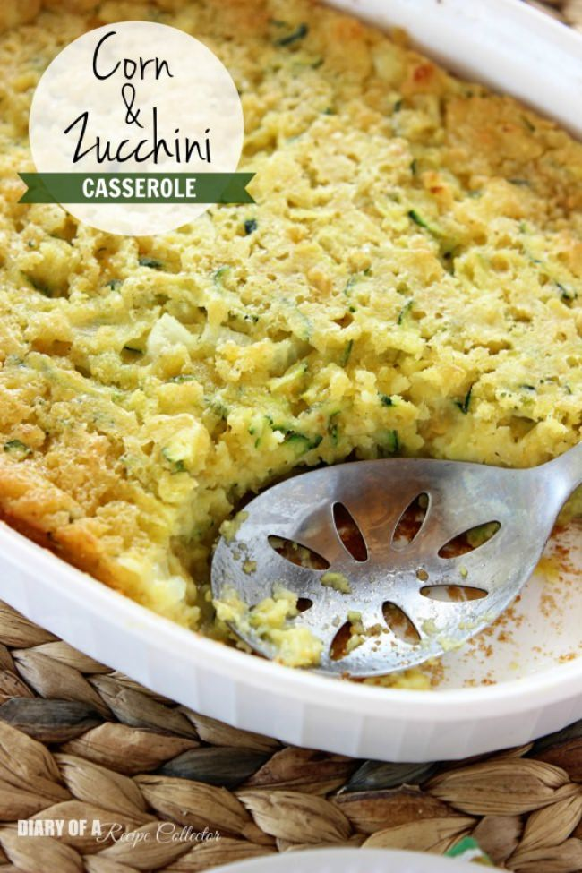 corn and zucchini casserole