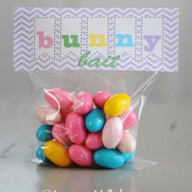 Bunny Bait Treat and Printable {Edible Easter Gift}