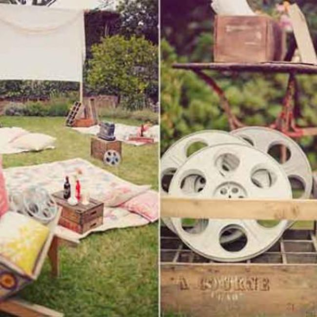 Old Hollywood Movie Night {Family Get Together Ideas}