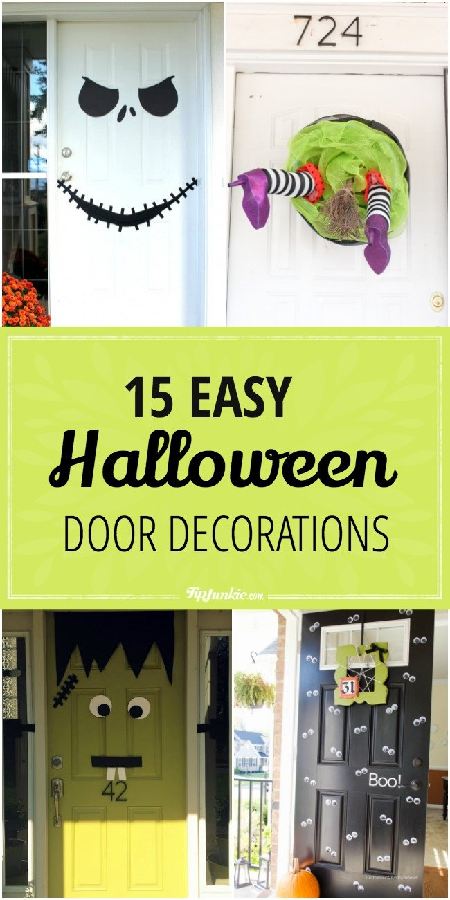 15 Easy Halloween Door Decorations-jpg