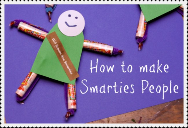 How To Make Smarties People