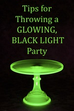 Tips for a Black Light Party