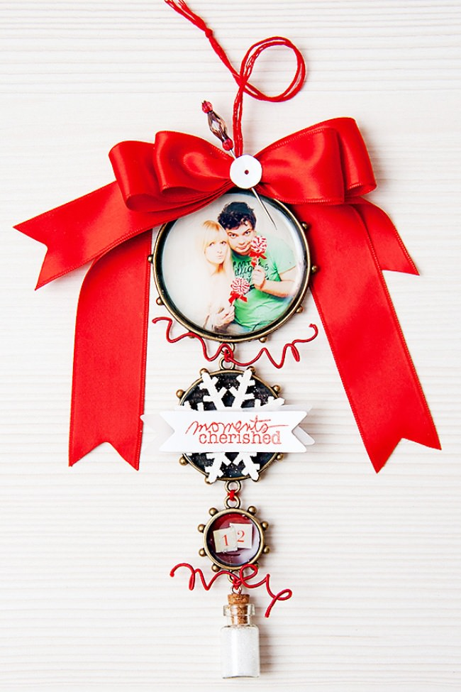 How to make Christmas Tree Photo Ornament
