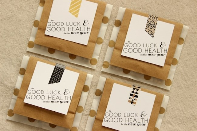 Good Luck & Good Health {free printables}