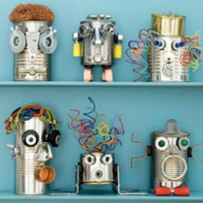 Can-Do Robots {Crafts to Do}