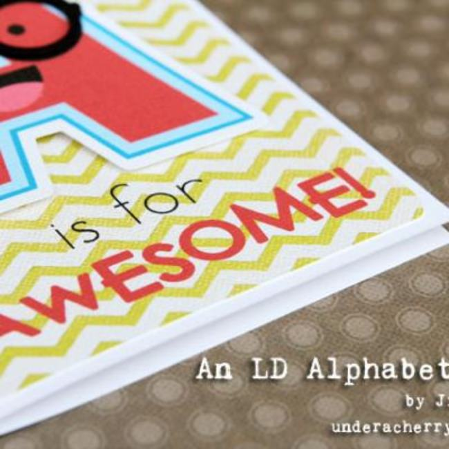 A is for Awesome! {Card Ideas}