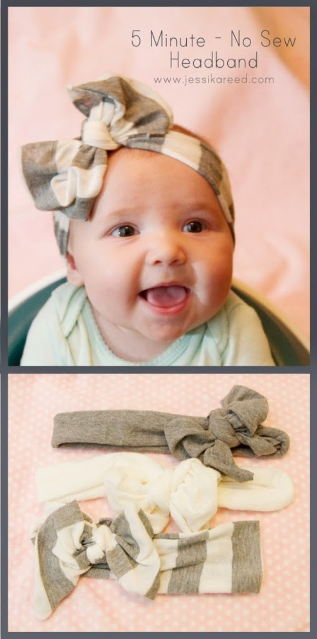 5 Minute No-Sew Headband