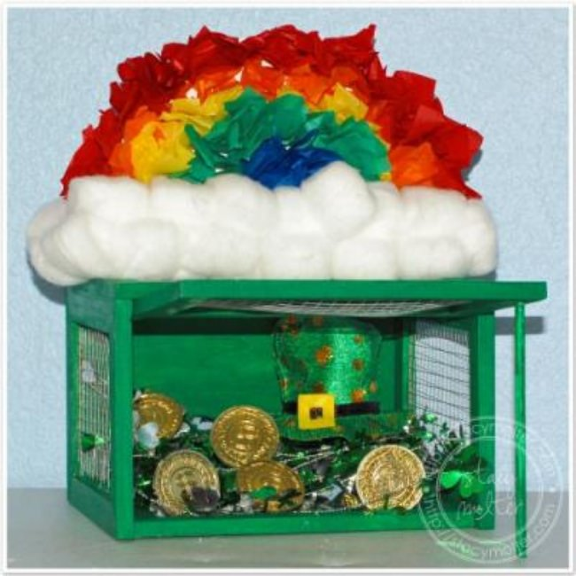 St. Patricks Day Kids Craft {Leprechaun Trap}