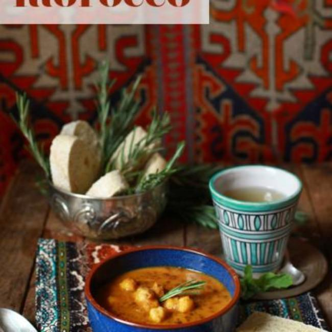 Recipes Brought Back From Beautiful Morocco {Morocco}