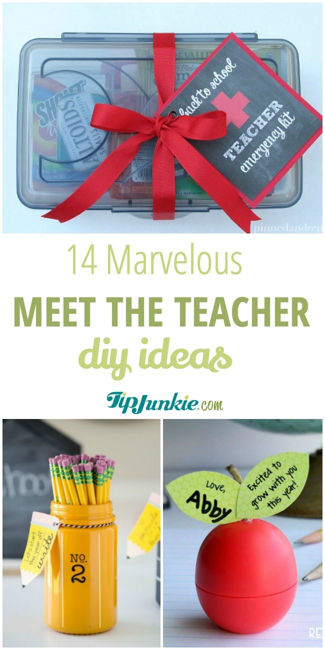 14 Marvelous Diy Meet The Teacher Ideas Tip Junkie
