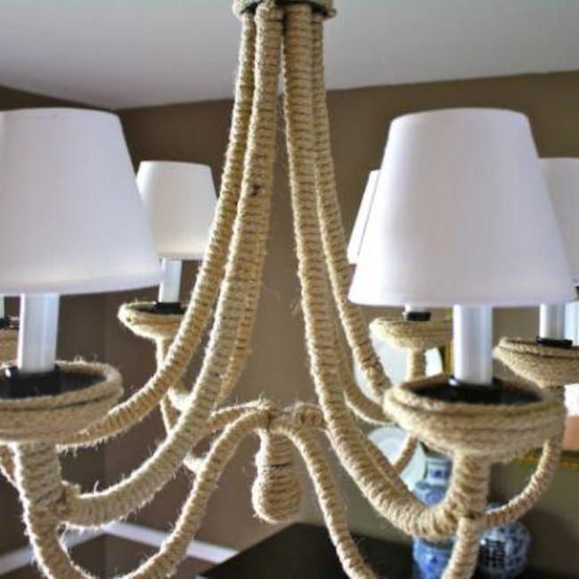 Restoration Hardware Inspired Chandelier {Lighting}
