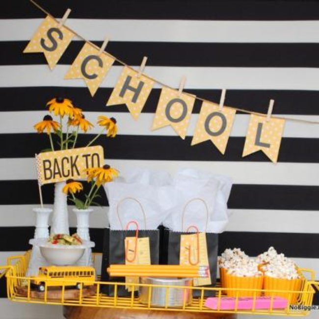 Back to School Party {party ideas}