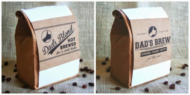 Coffee Labels {free printable}