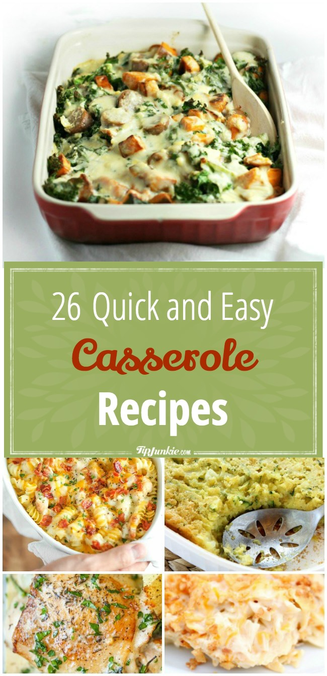26 Quick and Easy Casserole Recipes-png