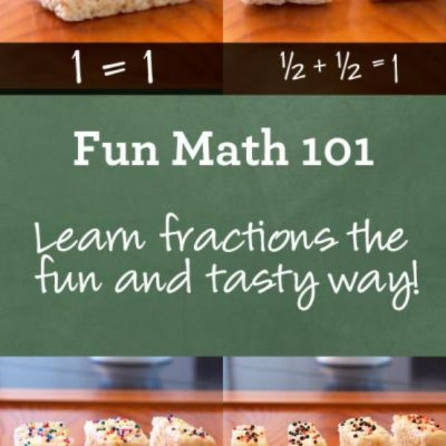 Teaching Fractions with Snacks {Math}