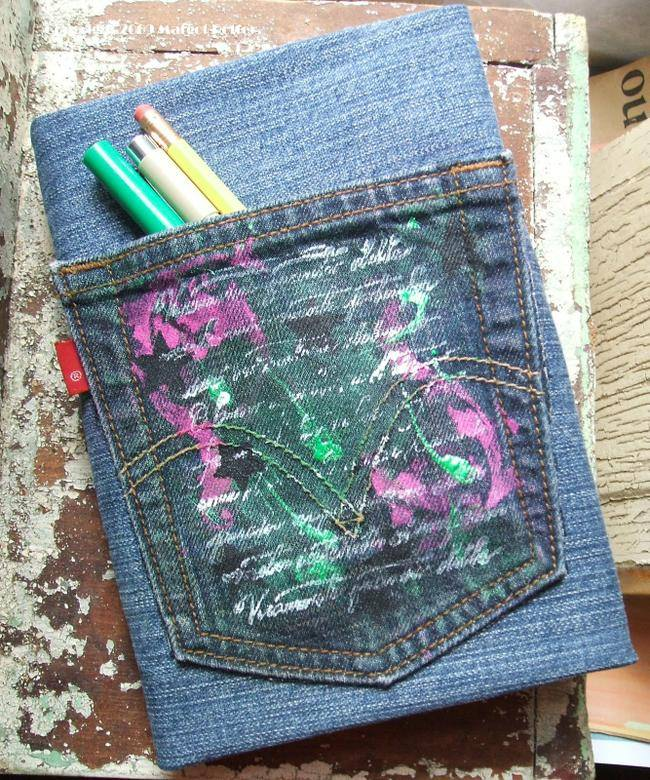 Recycled Denim Book Cover