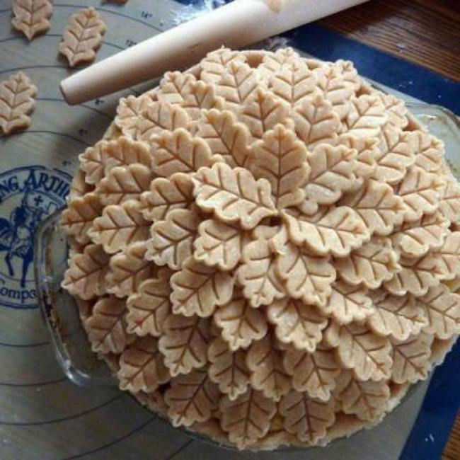 Fall Leaves Pie Crust