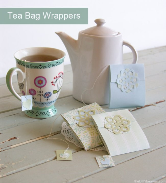Tea Bag Wrappers Tutorial