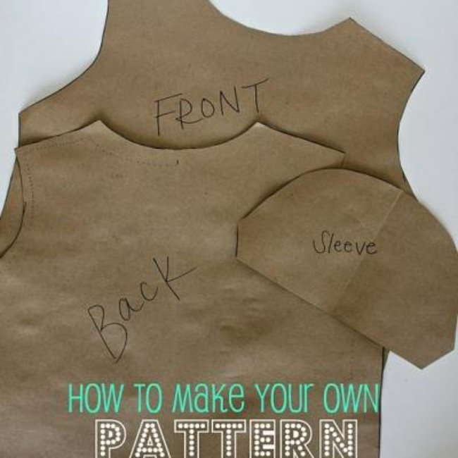 How to Make Your Own Pattern {Patterns}