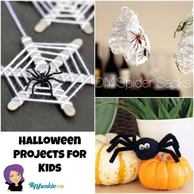 photograph about Halloween Crafts for Kids+free Printable referred to as 20 Enjoyable and Frightful Halloween Crafts Idea Junkie