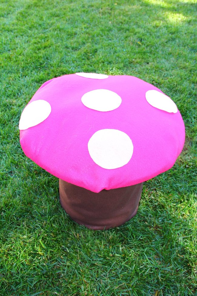How to Make Toadstool Chairs for a Fairy Party