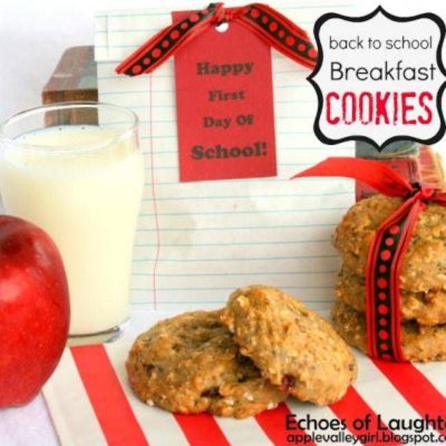 Healthy Breakfast Cookies {Recipe}