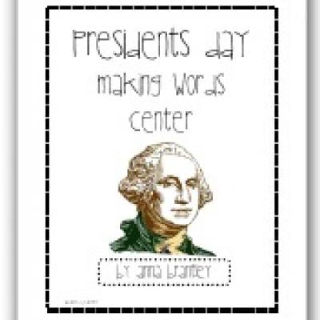 President's Day Printable Worksheets {Games}