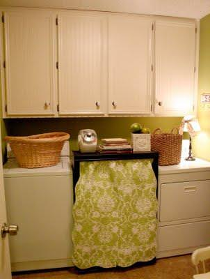 Laundry Room Makeover {before and after}