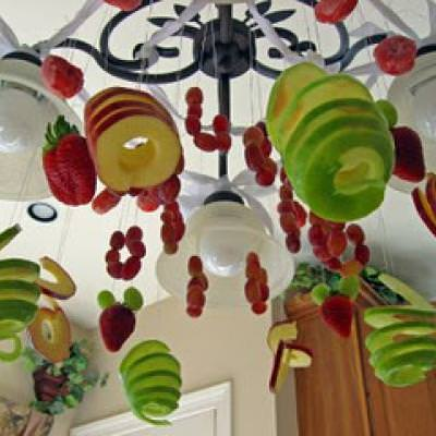 Fruit Chandelier Edible Decor – Fruit Chandelier
