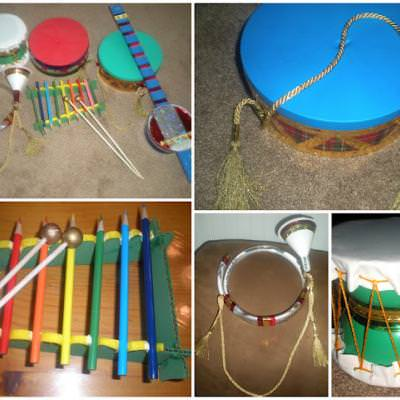 Tot Tools - Musical Instruments {Cool Crafts}