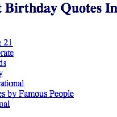 21st birthday quotes – Tip Junkie