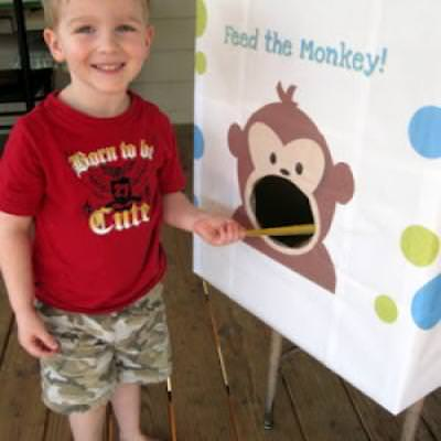 Go Bananas with a Monkey Party {Kid Party Games}