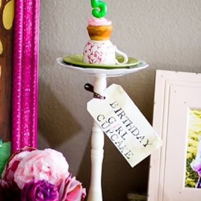 Vintage Tea Party {Children's Party}
