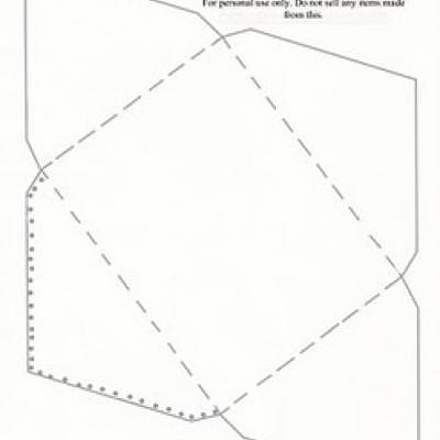 Greeting card envelope template online printable cards for Free templates for envelopes to print
