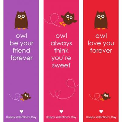 picture relating to Printable Valentines Bookmarks named Printable Valentines Working day Bookmarks Idea Junkie